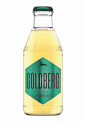 Goldberg ginger ale cl.20x24pz<br>Acqua tonica
